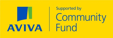 Logo of Aviva Community Fund.